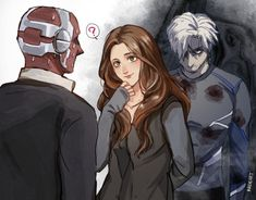 Quicksilver (Pietro), Scarlet Witch (Wanda) and Vision/// I don't know why but I just want to cry and scream because of Pietro.And I need to pick up my heart from the ground Marvel Avengers, Marvel Comics, Heros Comics, Marvel Heroes, Quicksilver Avengers, Captain Marvel, Funny Marvel Memes, Marvel Jokes, Avengers Memes