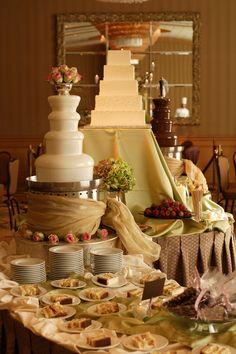 caramel fountain | Chocolate Fountains, An Alternative To Wedding Cakes | Elizabeth ...