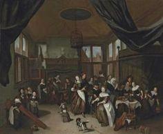 Richard Brakenburgh - The Feast Of Saint Nicholas | Christie's London 2012