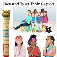 Fast and Easy Bible Games for Sunday School from www.daniellesplace.com