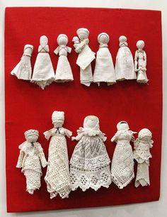 Photo from album Yarn Dolls, Fabric Dolls, Paper Dolls, Doll Crafts, Diy Doll, Cute Crafts, Handkerchief Crafts, Homemade Dolls, How To Make Toys