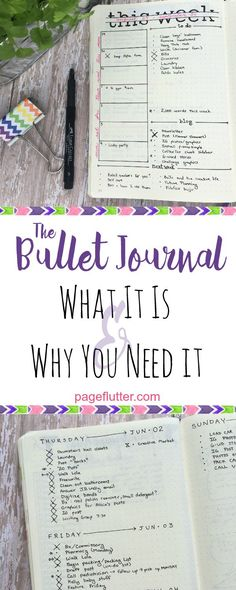 Bullet journaling changed how I goal plan. This system is so simple, it's pure…