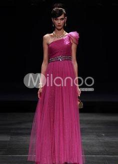 Gorgeous Purple Cloth One Shoulder Womens Evening Dress. Gorgeous Purple Cloth One Shoulder Womens Evening Dress. See More One Shoulder at http://www.ourgreatshop.com/One-Shoulder-C968.aspx