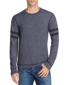 Splendid Mills Double Stripe Sweatshirt