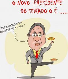 O pizzaiolo - O Novo Presidente garante Pizzas Fresquinhas...