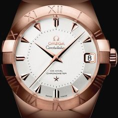 Discover the legendary world of OMEGA and buy your favorite watch directly from the Official OMEGA Online Store. Browse the full OMEGA watch catalog now! Unique Roses, 18k Rose Gold, Watches Online, Constellations, Omega Watch, Copper, Clock, Create, House