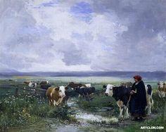 Tending the herd