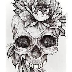 D E T A I L S ___________Flower Skull | 1200₽ Temporary Tattoo. Самый выделяющийся дизайн. Любимый всеми, проработанный до мелочей. Каждый отдельный элемент заслуживает отдельного внимания. Переводное тату для Вас от @sashatattooing / Доступно к заказу DM - WhatsApp +7(911)979-51-71 Юлия