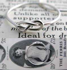Erica Weiner Infinity Ring : $35