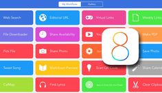 Workflow, Automatización Integrada en iOS 8 para iPhone y iPad