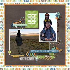 Outdoor Adventures by Sweet Shoppe Designs, from the May 2014 Scrap Pack at Scrap Stacks | font is Pea Dacia
