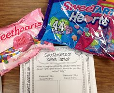 Sweethearts or Sweet Tarts?! What's your opinion?