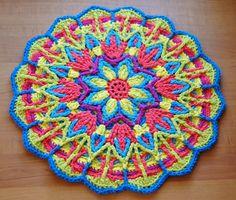 Petals to Picots: Overlay Crochet Mandala