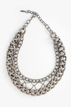 Woman's fashion /Chain Frame Necklace