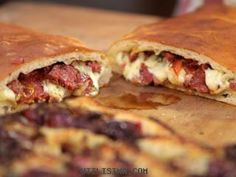 Recetas | Calzone de mozzarella, tomates asados y aceitunas | Narda Lepes en Utilisima.com