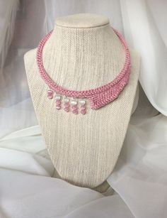 """Girly"" Necklace from The Asymmetrical Collection, made with Love"