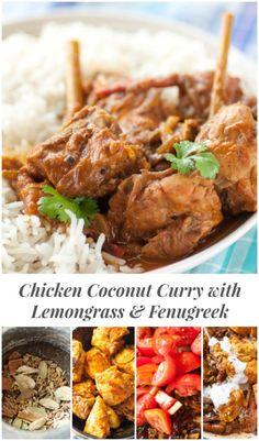 Chicken coconut curr