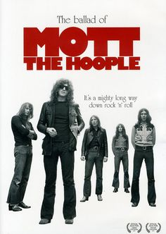 "'Mott the Hoople' were a British rock band with strong R roots, popular in the glam rock era of the early to mid-1970s. They are popularly known for the song ""All the Young Dudes"", written for them by David Bowie and appearing on their 1972 album of the same name."