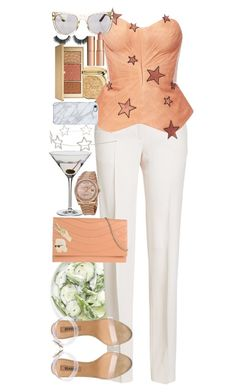 """You wouldn't worry so much about what others think of you if you realized how seldom they do."" by quiche ❤ liked on Polyvore featuring Christian Dior, Jil Sander, Maria Lucia Hohan, adidas, Rodo, Dartington Crystal, Cara, Uncommon, Estée Lauder and Tory Burch"