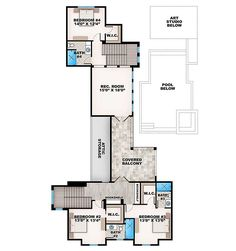Key West Charmer with Art Studio - 86040BW | Architectural Designs - House Plans