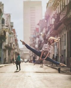 """never think hallway through your split leap """"ooh this is a good split leap"""" because then you will fall and twist your ankle"""