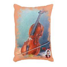 Violín/Violin Cojín