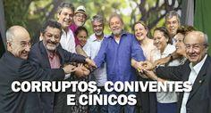 A Polícia Federal, através das investigações da Operação Lava Jato, Operação Zelotes e Operação Custo Brasil, já comprovou que o PT roub...