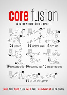 Core Fusion Abs Workout