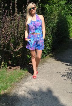 TWO PIECES FLORAL PRINT #outfit #ootd #summeroutfit #fashionblogger #fblogger #streetstyle #colorblockbyfelym