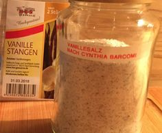 Rezept Vanillesalz nach Cynthia Barcomi von Morlin1701 - Rezept der Kategorie Grundrezepte Nutella, Good To Know, Dips, Yummy Food, Yummy Recipes, Cheese, Homemade, Cake, Gourmet