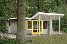 WVAU architecten - Vakantiehuisje Rietveld 1951