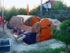 """""""Budując ziemiankę, byłem zarówno murarzem, jak i stolarzem, ponieważ sam… Root Cellar, Wine Cellar, Bunker, Building Structure, Building A House, Cellar Design, Garage Shed, Stone Masonry, Underground Homes"""