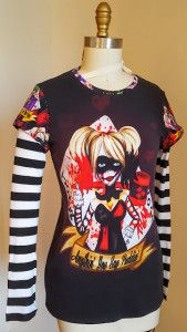 Faux-Layered T-shirt by Stacy