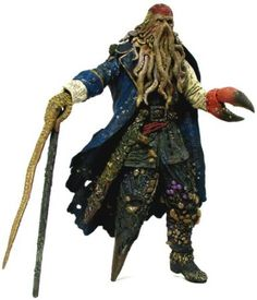 """Pirates of the Caribbean: Dead Man's Chest 12"""" Talking Davy Jones from NECA"""