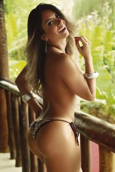 model Graciella Carvalho. Graciella was born October 31, 1985 (age 27) in Santo Andre, Brazil. She was the runner-up of the 2011 Miss BumBum pageant. Second place looks spectacular.