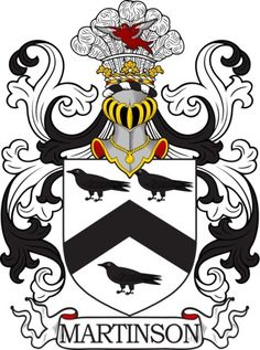 Martinson Family Crest and Coat of Arms