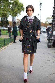 Paris Fashion Week   #streetfashion