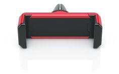 fixxo Universal KFZ-Handyhalter als Werbeartikel in individueller Farbgebung, hier mit rotem Kunststoff-Gehäuse
