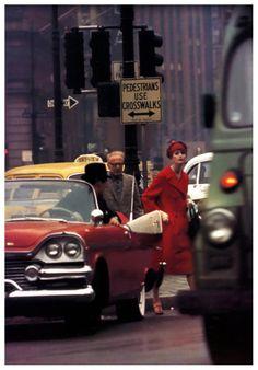 Anne St. Marie, photo by William Klein, New York City,1962 #truenewyork #lovenyc