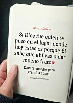 Comprobado lo he experimentado Gods Love Quotes, Quotes About God, Faith Quotes, Bible Quotes, Spanish Inspirational Quotes, Spanish Quotes, Positive Phrases, Frases Tumblr, Love Phrases