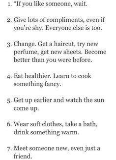 """How to feel better and become better"""