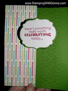 Birthday Thinlit Card 1