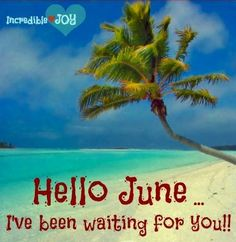 Hello June! Hello June, Hello Goodbye, Hello Summer, Days And Months, Months In A Year, Cellphone Wallpaper, Phone Wallpapers, Spring Pictures, Soul Quotes
