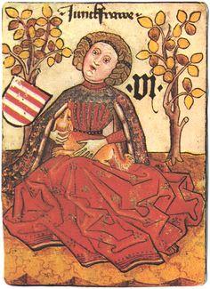 Hofamterspiel, c.1460 - World of Playing Cards