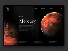 Space Exploration Mercury