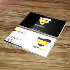 Shiny free business card mockup available for download as easy customizable PSD file thanks to Sectortech.