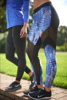 Koral and Vimmia are a match made in heaven! Check out these awesome leggings that are full of function and fashion! Available at evolvefitwear.com