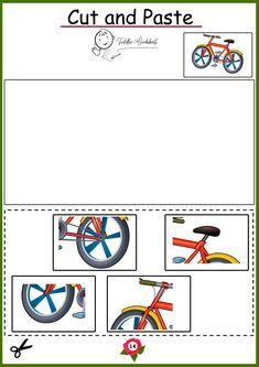 free preschool cutting worksheets Toddler Worksheets, Preschool Worksheets, Free Preschool, Cut And Paste, Symbols, Letters, Cards, Letter, Maps