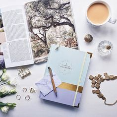 To succeed you must believe, to believe you must plan out your success... 💭👌🏻 #ceoofmyownlifeplanner #ellaiconic #planner #dailyplanner #productivity #plannerlove #lavenderandmint #pastel #girlboss #thehappynow #workbook #stationery #giftsforher #jewerly #fromabove #tea #tealover #instastyle #love #2017calendar #newin #portermagazine #postitnotes #gold #perfume #anthropologie #flatlay