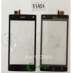 Dokunmatik ekran Digitizer FS502 FS501 FS451 FS452 FS403 FS401 UÇMAK Için ön Cam Lens Dokunmatik Panel Dokunmatik Ekran Digitizer Siyah